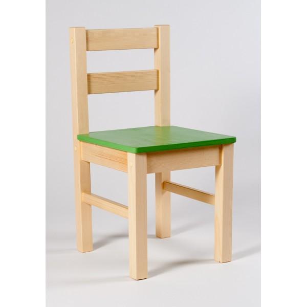 e0f734b6056d Hračky Kipito - dřevěné hračky pro děti - Židle KLASIK masiv